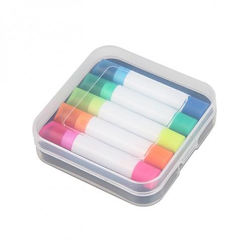 5색 미니고체형광펜
