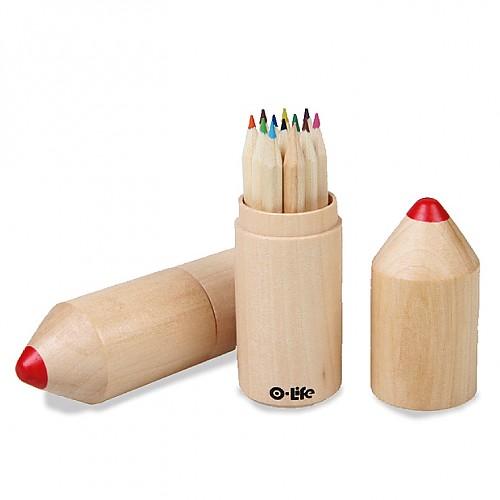 오라이프 12색 원통색연필
