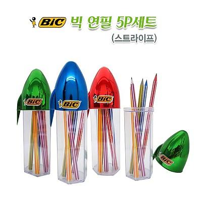 빅볼펜 연필 5종세트